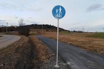 Cyklostezka z Klatov do Beňov.