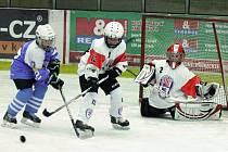 Hokej 4. tříd: HC Klatovy (bílé dresy) - HC Škoda Plzeň 4:26