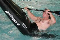 Vávra Hradilek trénoval v sušickém bazénu.