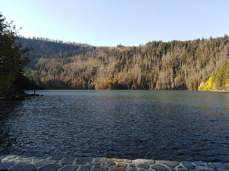 Černé jezero.