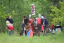 Již druhý ročník Středověkých slavností u tvrze Zavlekov provázelo dusné počasí.