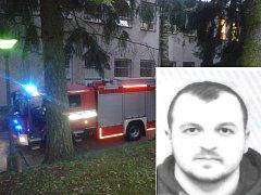 Policie hledá pacienta, který měl způsobit požár na psychiatrii