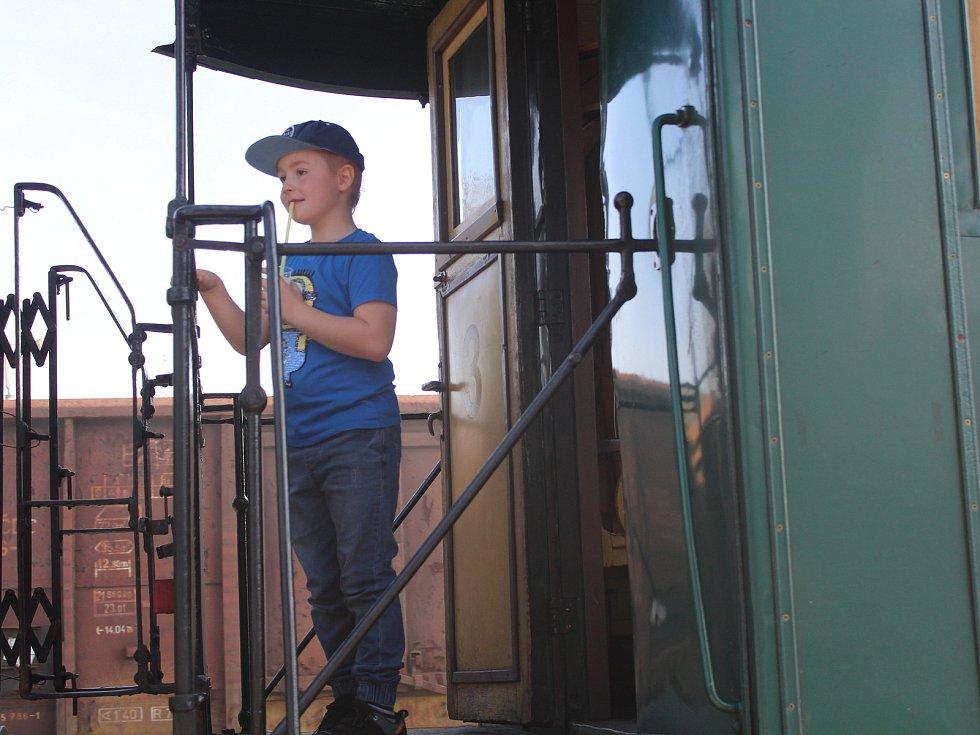 Den železnice v Horažďovicích.