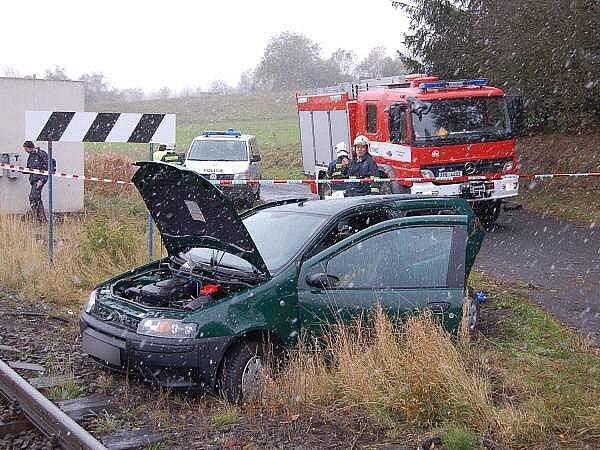 Dopravní nehoda u Kovčína