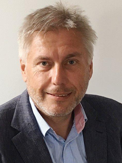 Nový ředitel Nemocnice Sušice Jaroslav Kratochvíl.