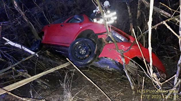 Nehoda u Kocourova.