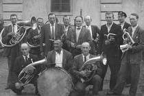 Dobový snímek kapely Ježovanka