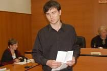 Jaroslav Moc u klatovského soudu