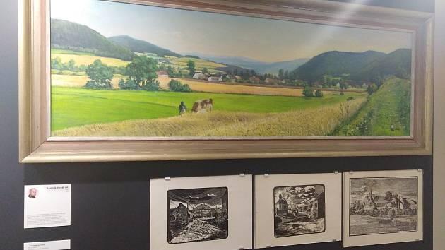 Muzeum a zámek v Horažďovicích s výstavou Obrazy krajiny pod Práchní.