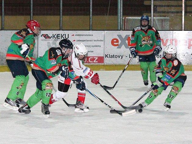 Hokej, st. žáci: HC Klatovy – HC Domažlice 1:9