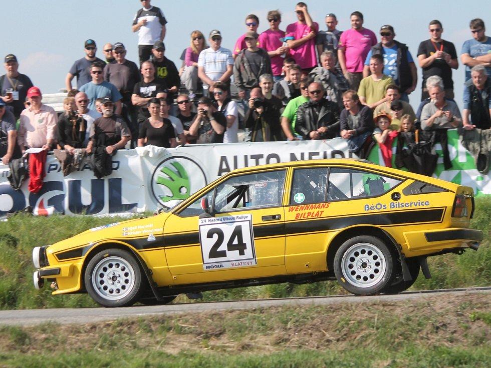 1. RZ 24. Historic Vltava Rallye, Rallye Šumava Legend.