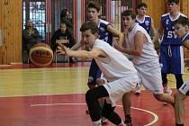 Liga kadetů U17 2017/2018, play-out: Klatovy (bílé dresy) - Vyšehrad