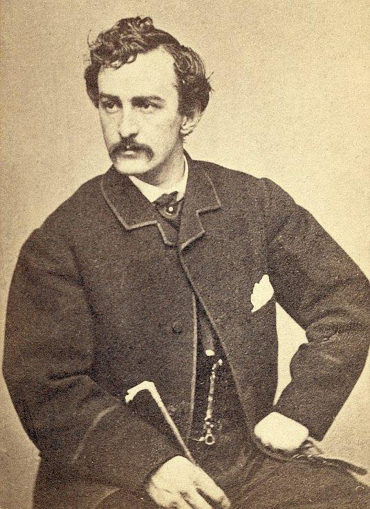 Vrah amerického prezidenta John Wilkes Booth. Foto: archiv rodiny Holých