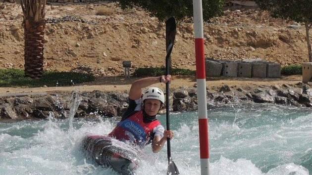 Karolína Galušková trénuje ve Spojených arabských emirátech.