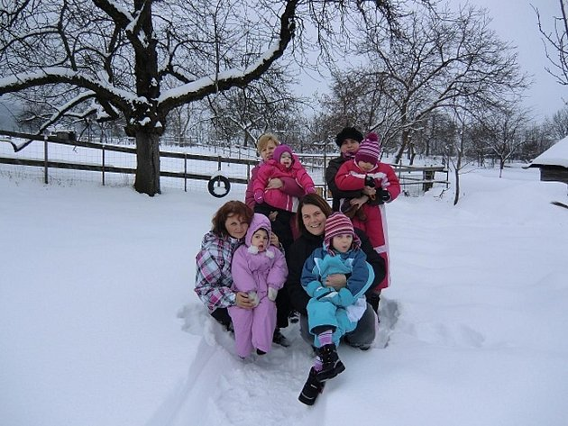 Maminky z Klatovska se svými postiženými dětmi