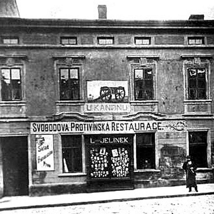 Protivínská restaurace U Kanonu v Klatovech