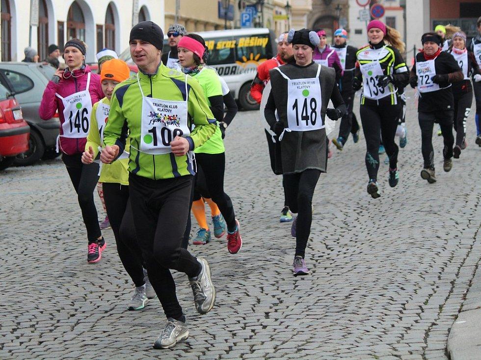 Vánoční běh pod Černou věží v Klatovech 26. 12. 2017
