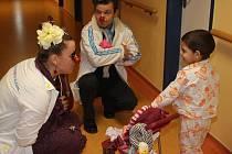 Zdravotní klauni v Klatovské nemocnici