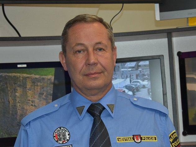 Nový velitel MP Klatovy Luboš Steinbach.