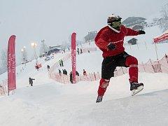 Václav Kosnar vstoupil do sezony 23. místem v závodě Riders Cupu v rakouském městě Wagrain-Kleinarl.