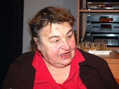 Jaroslava Sucháčová ze Strašína.