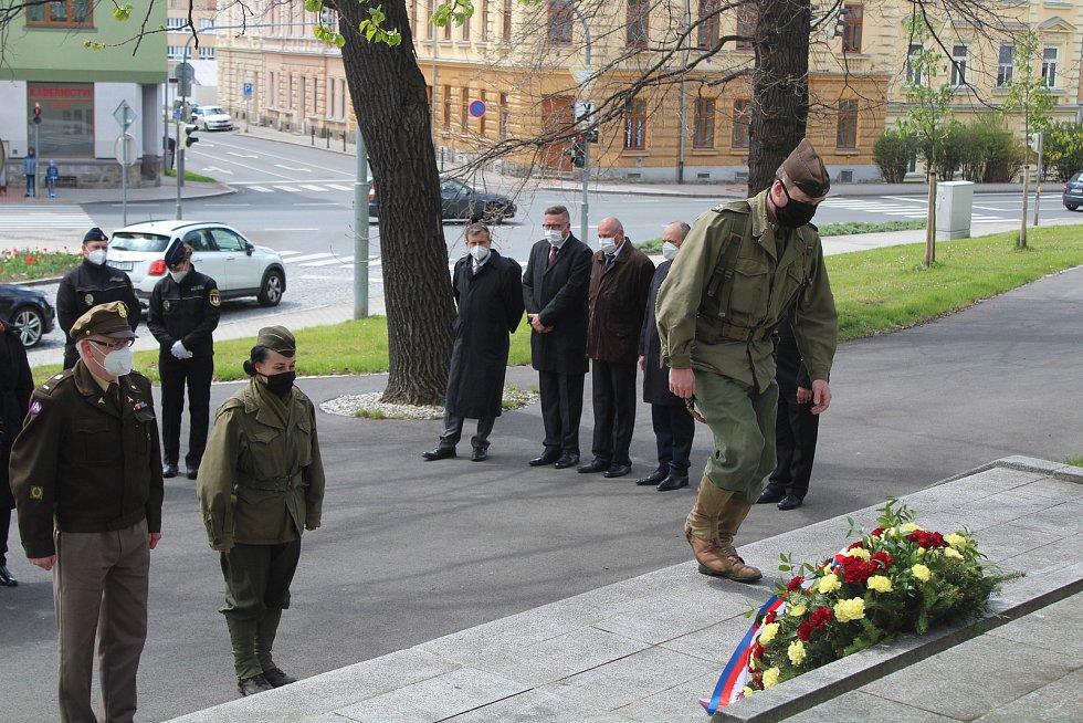 Oslavy osvobození v Klatovech.