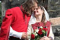 Šermířská svatba na hradě Švihov