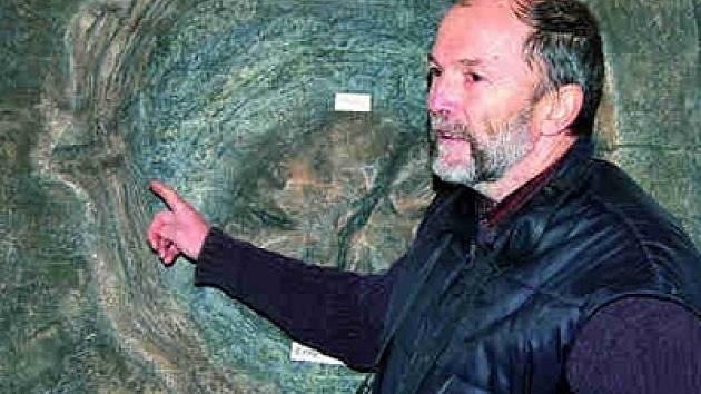 Petr Rajlich z Jihočeského muzea.