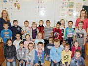 Žáci 1. třídy ze ZŠ Lípa nad Orlicí.