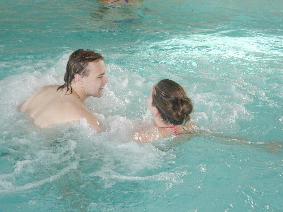 Aquapark v Sušici.