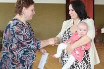 V sobotu 8. dubna se v Hradešicích konalo po 30 letech vítání občánků.