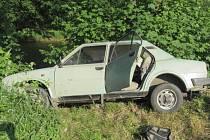Nehoda u Sušice.