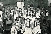 Pačejovští ochotníci v roce 1958