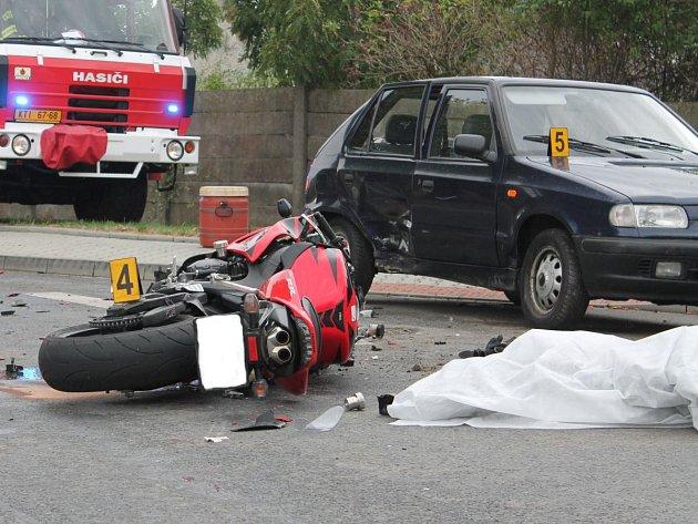 Tragická nehoda u Hradešic 2015
