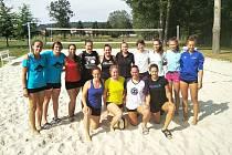 V Klatovech se uskuteční ženský turnaj v plážovém volejbale.