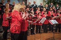 Vánoční koncert Svatoboru v Sušici.