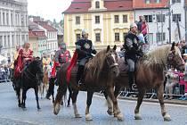 Svatováclavské oslavy v Klatovech. Ilustrační