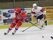 2. liga 2017/2018: Klatovy (bílé dresy) - Nymburk 5:3