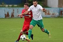 Divize 2016/2017: Klatovy (červené dresy) - Jankov 3:0