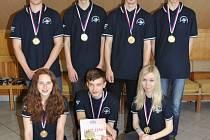 Šachisté Šachklubu Sokol Klatovy vyhráli mládežnickou extraligu.