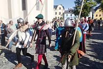 Slavnosti v Kašperských Horách s Janem Lucemburským.