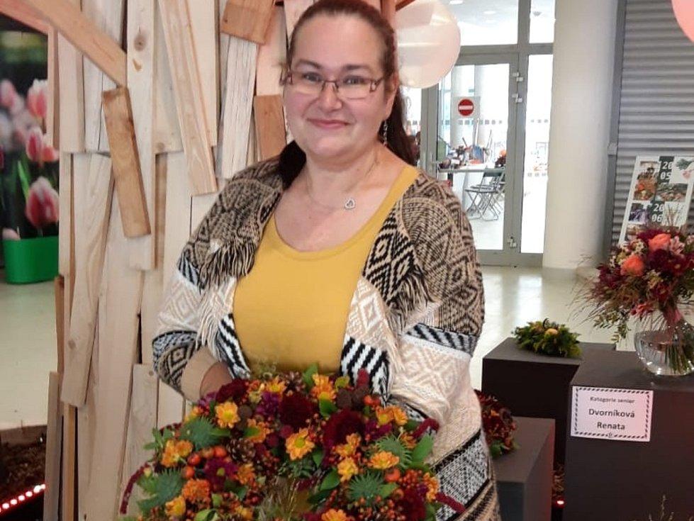 Martina Pouzová z Chudenic na soutěži.