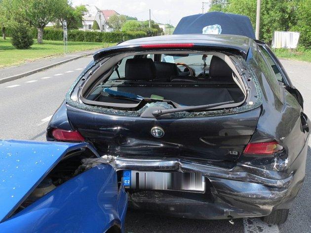 Nehoda v Neznašovech.