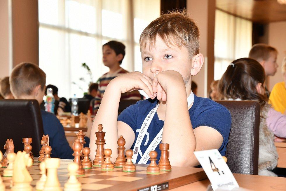 Šachista Matyáš Roubal. Foto: Karel Nováček