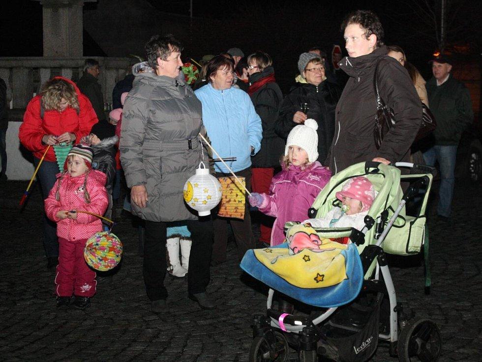 Lampionový průvod ve Strážově 2013
