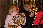 Vánoční koncert v arciděkanském kostele v Klatovech.