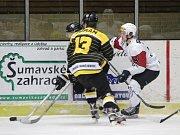 2. liga 2017/2018: Klatovy (bílé dresy) - Moravské Budějovice 2:4