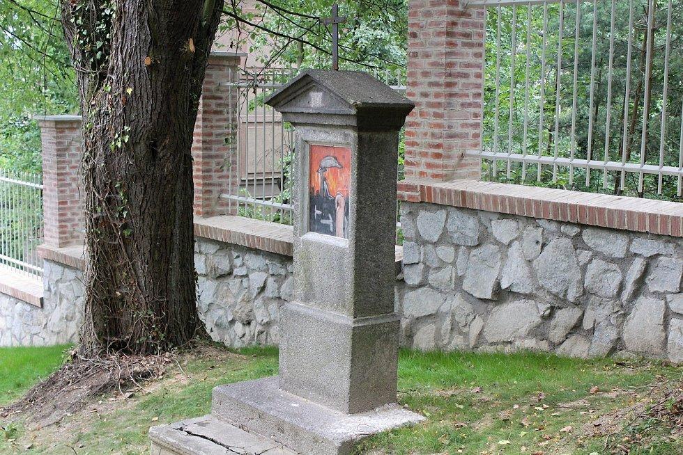 Křížová cesta v Klatovech.