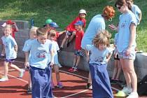 Sportovní den mateřských škol v Klatovech