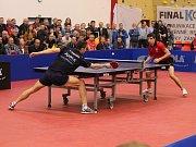 Reprezentace ČR mužů sehrála v Klatovech kvalifikační zápas o postup na ME ve stolním tenise 2017 s Polskem